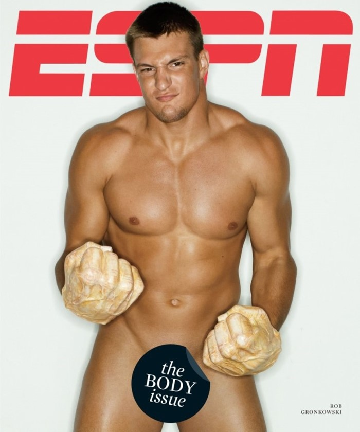 ESPN 바디이슈 2012 롭 그론코우스키(Rob Gronkowski).jpg