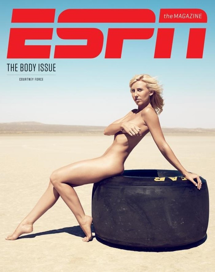 ESPN 바디이슈 2013 Courtney Force cover 02-02.jpg