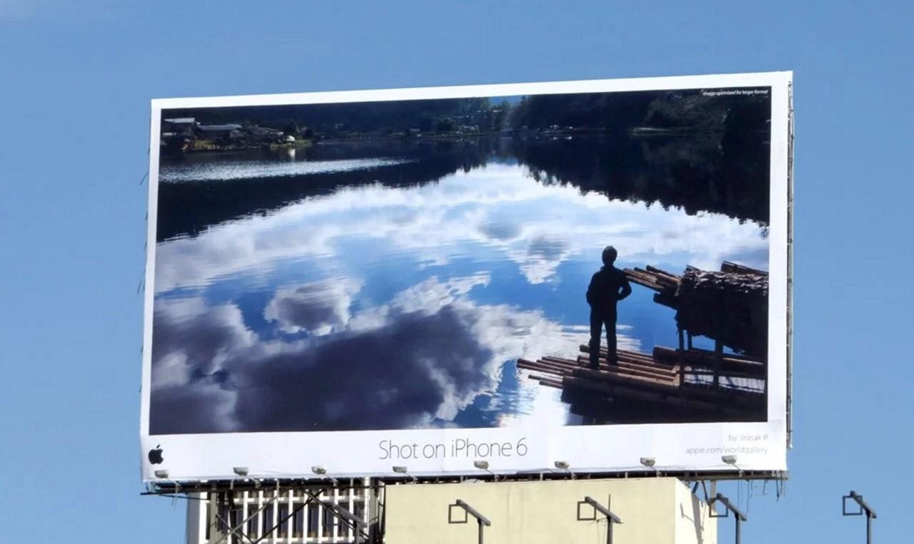 애플 아이폰6 옥외광고 아이폰은 찍은 사진 LA.jpg