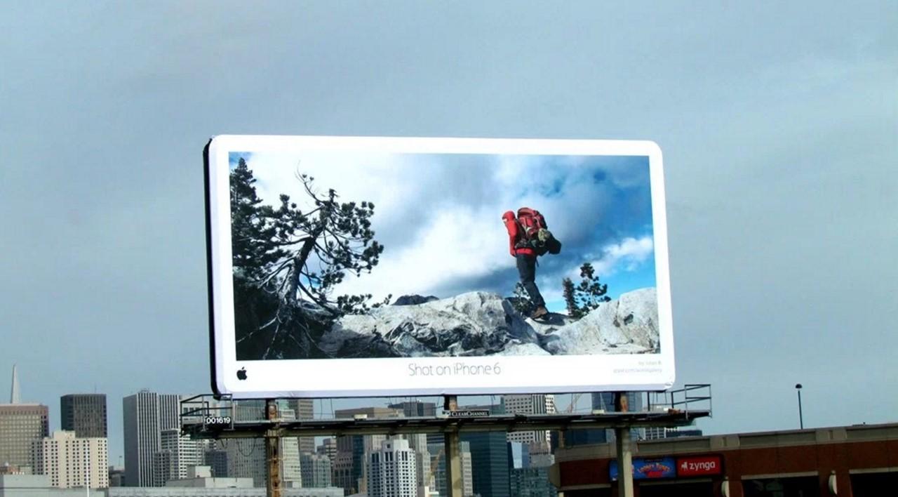 애플 아이폰6 옥외광고 아이폰은 찍은 사진 샌프란시스코.jpg