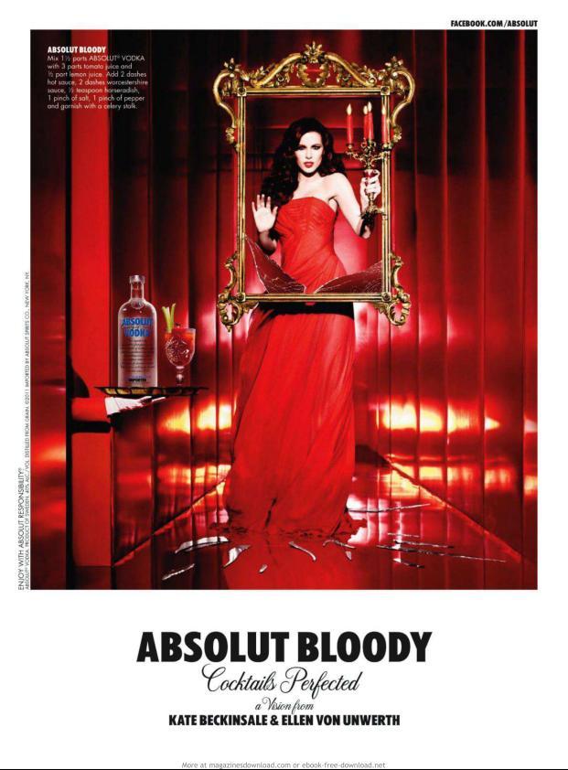앱술루트광고 - ABSOLUT BLOODY