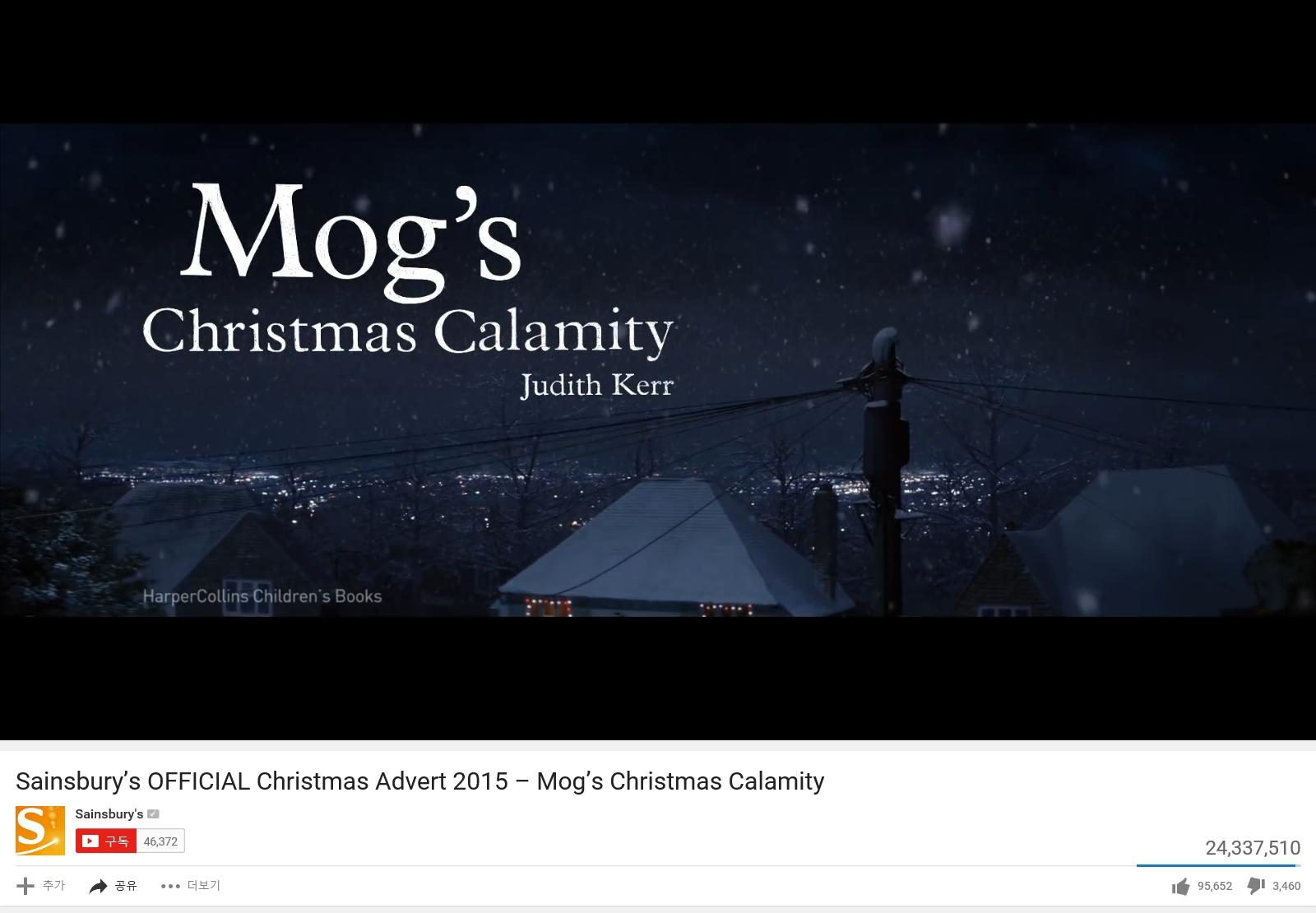 세인버리스 Christmas Advert 2015 – Mog's Christmas Calamity.jpg