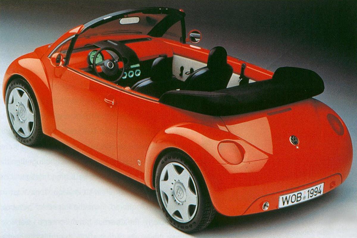 1994년 디트로리트에서 열린 북미 국제 자동차쇼에서 발표한 컨셉카 Concept1 Cabriolet__VW_Concept_One_design-sketch1994_VW_Concept_One_Cabriolet_02.jpg