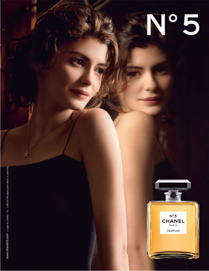 2009년 샤넬 No5 광고_오드리 토투(Audrey Tautou)를 모델로 도미니크 이세르만(Domonique Issermann)이 쵤영02.jpg