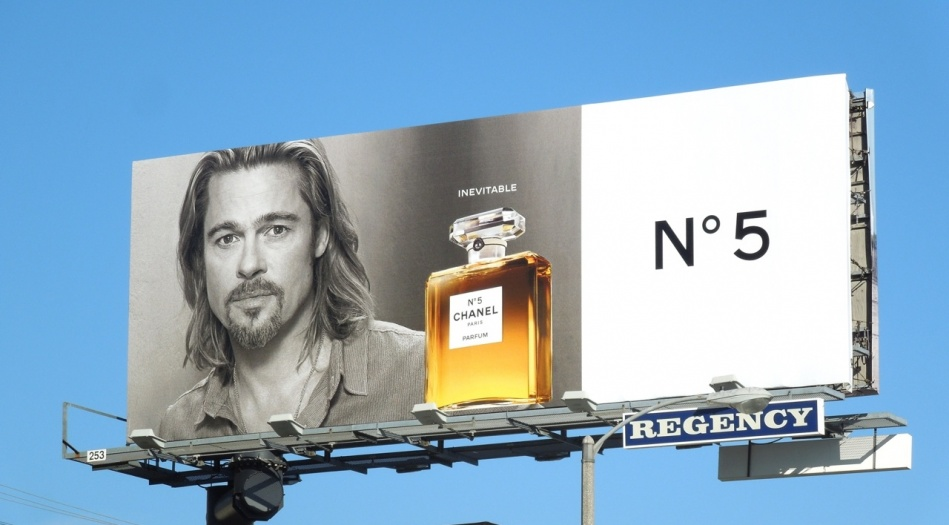 2012년 샤넬 No5 광고_Brad Pitt_03 OOH.jpg