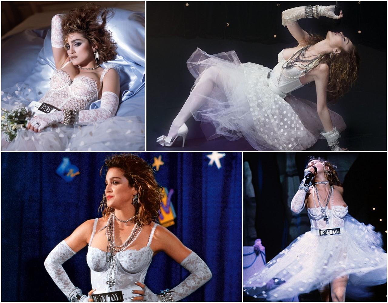 마돈나 MTV 시상식(1984) 공연 모습 Madonna Like a Virgin02.jpg