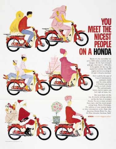 You Meet the Nicest People on a Honda 4701_preview  좋은 사람들이 탄다는 혼다 오토바이 광고