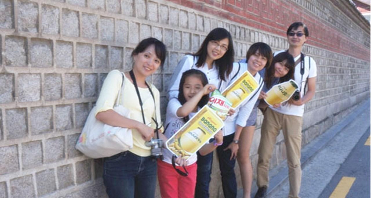 해외관광객 대상 바나나맛우유 홍보02.jpg