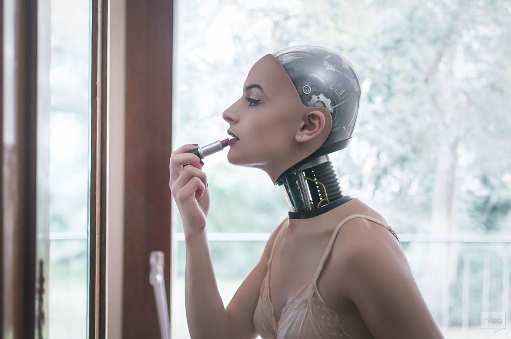 사이보그 일상을 담은 the robot next door by niko photographisme