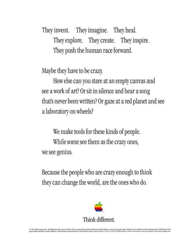1997년 애플  다르게 생각하기 캠페인  Apple Think Different Campaign00203
