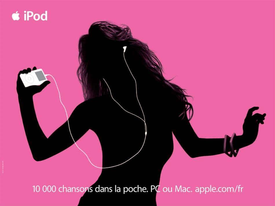 아이팟 광고 iPod ad