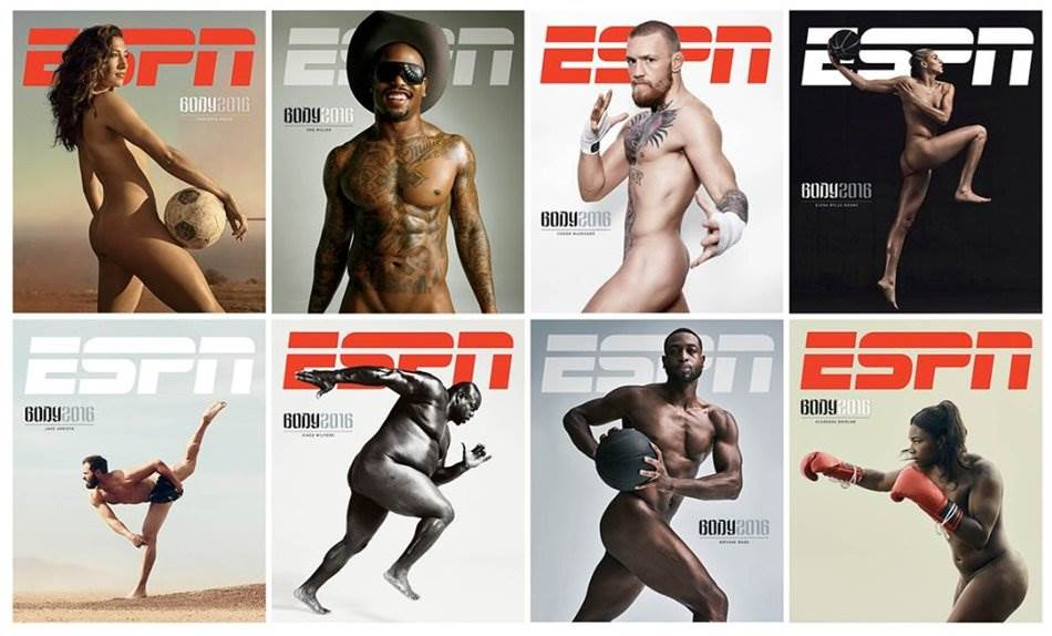 바디이슈(The ESPN Body Issue) 2016