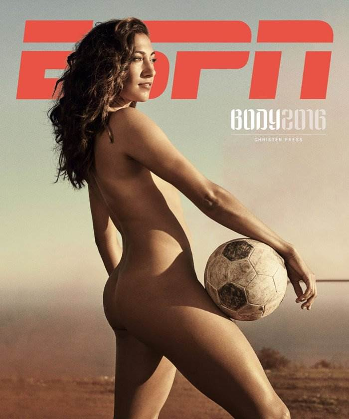 바디이슈(The ESPN Body Issue) 2016_Christen Press