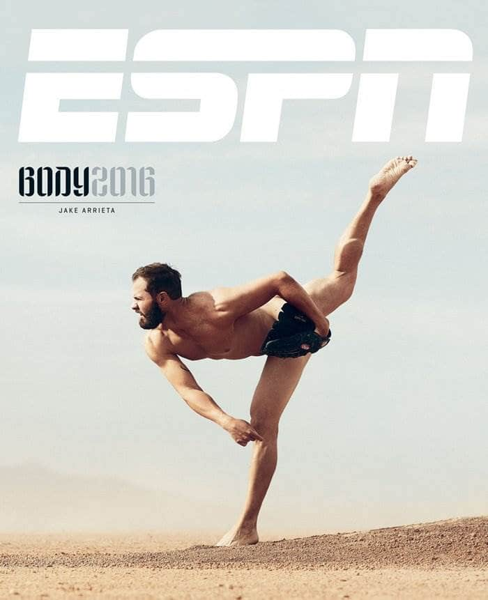 바디이슈(The ESPN Body Issue) 2016_Jake Arrieta