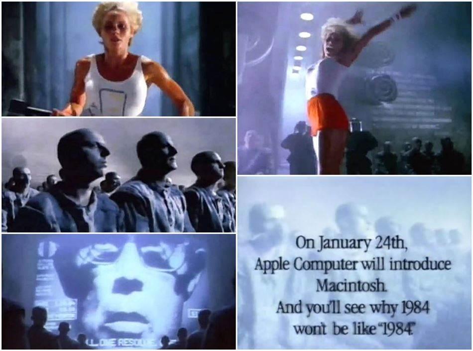 1984년 애플 매킨토시 런칭 슈퍼볼 광고 clip image