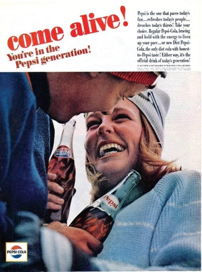 펩시 제너레이션 Pepsi Generation Come alive
