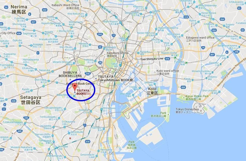 다이칸야마 츠타야서점(TSUTAYA)_구글맵에서 찾아본 다이킨야마 츠타야-18
