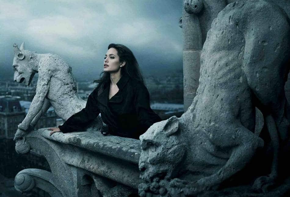 애니 레보비츠(Annie Leibovitz)_안젤리나 졸리(Angelina Jolie)
