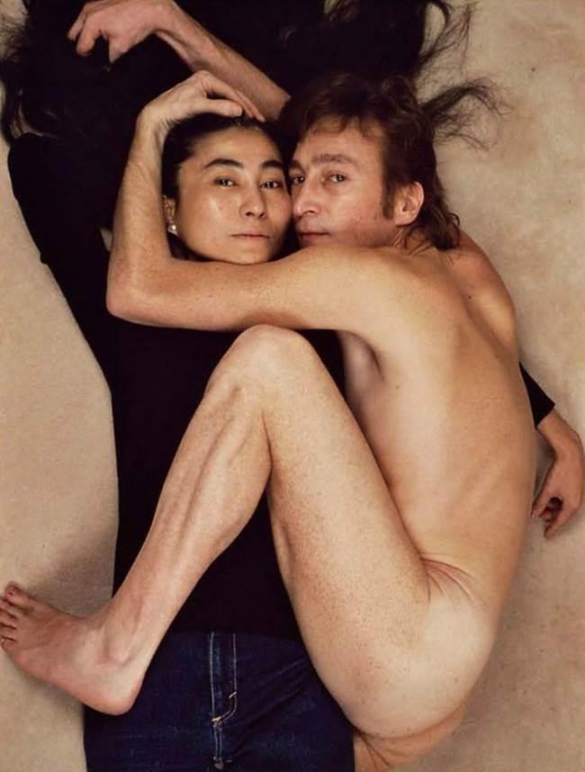 존 레논과 오노 요코 John Lennon & Yoko Ono photo by Annie Leibovitz00
