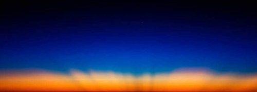 비행기 조종석에서 보는 아름다운 풍광 사진 - 크리스티안 반 헤지스트(Christiaan van Heijst) 사진 소개