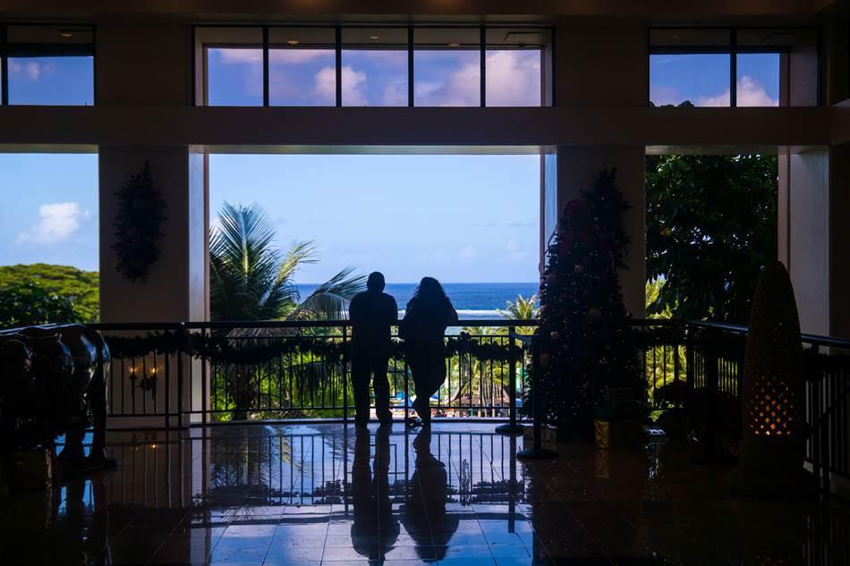 괌 PIC 로비 풍경