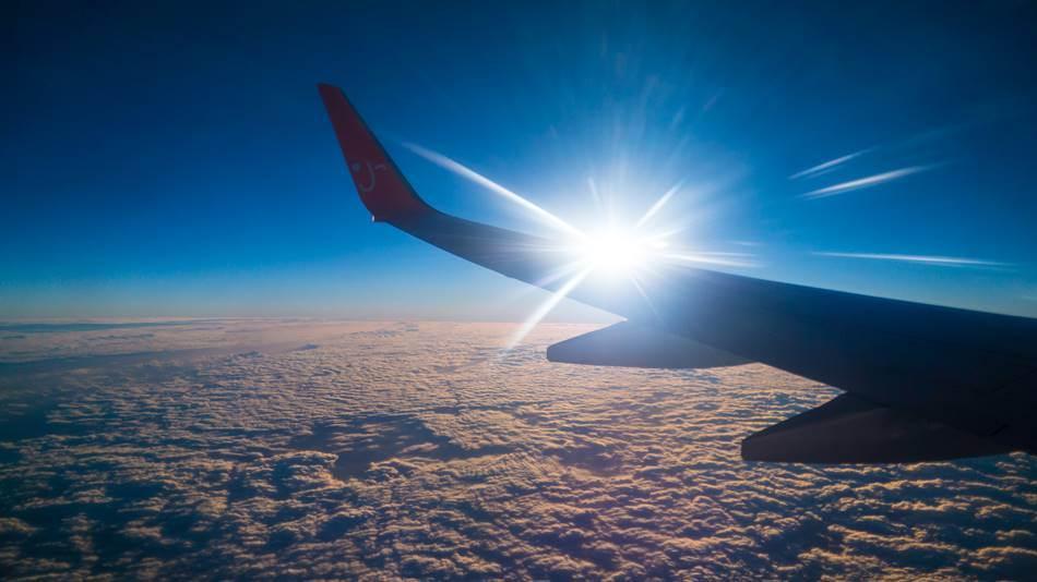 돌아오는 비행기에서 담아본 상공의 풍경