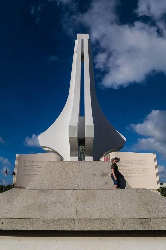 괌여행_스페인광장-2차대전 전사자 추모를 위한 기념비
