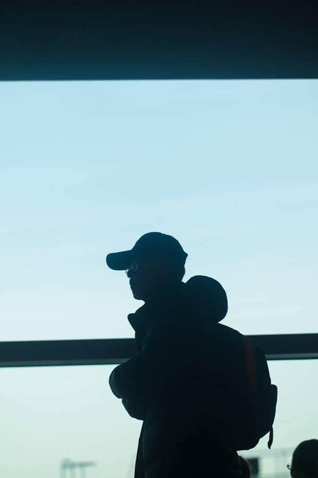 인천공항_항공편-지연에-따라-대기중에-장인어른