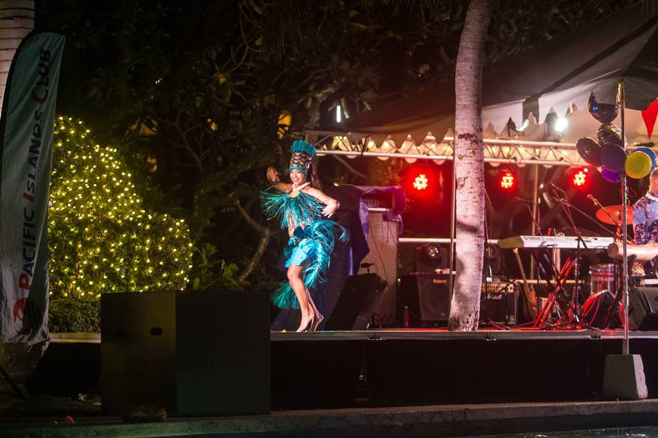 원주민 전통 공연 모습