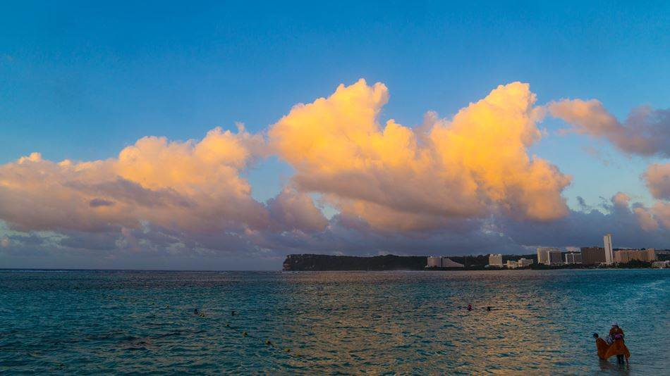 PIC 괌에서 바라보는 석양 SUNSET OF guam