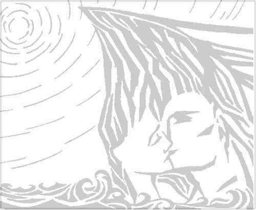사랑의 절벽(Two Lovers Point) 전설 삽화(illustration)