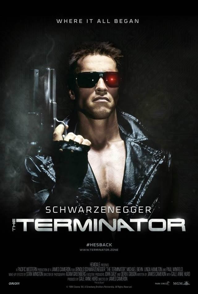 터미네이터 오리지널 포스터 The-Terminator-Poster