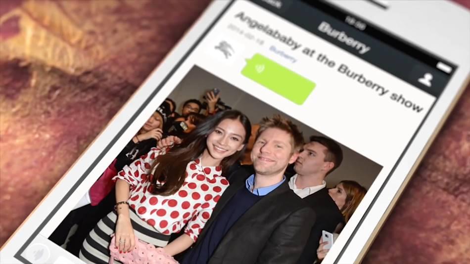 버버리와 위챗 공동마케팅 2014년 Burberry on WeChat_ A_W14 Show and London to Shanghai Event