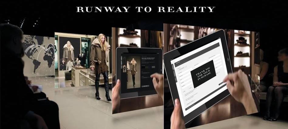 버버리 디지탈 마케팅 사례_Runway to reality fashion 패션