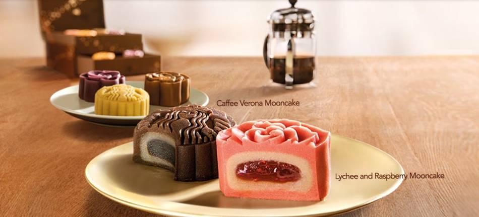 스타벅스에서 출시한 월병(月饼) 영어로 문케익-mooncake이라 한다