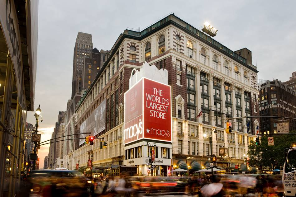 미국 백화점 메이시 macys herald square midtown manhatta -worlds largest store