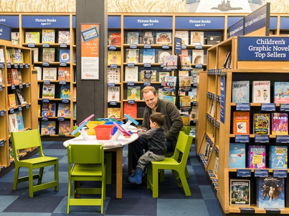 아마존 븍스토어 시애틀 Amazon book store Credit Kyle Johnson for The New York Times