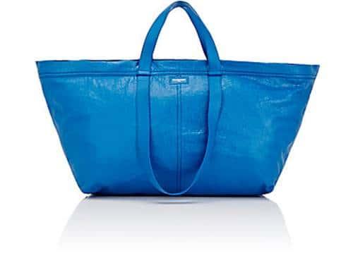 이케아 Shopping bag을 카피한 프랑스 럭셔리 패션 디자이너 Balenciaga의 Arena Extra-Large Shopper Tote Bag 504889384_1_BagFront