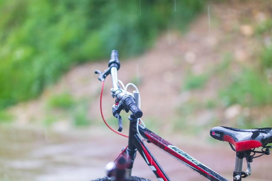 비 맞으며 은결이와 자전거를 타다-내리는 비를 맞고 있는 자전거 우천중의 라이딩(20170513)-0353