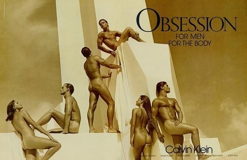 빈 클라인 포토그래퍼 브루스 웨버(Bruce Weber) 1987 Obsession