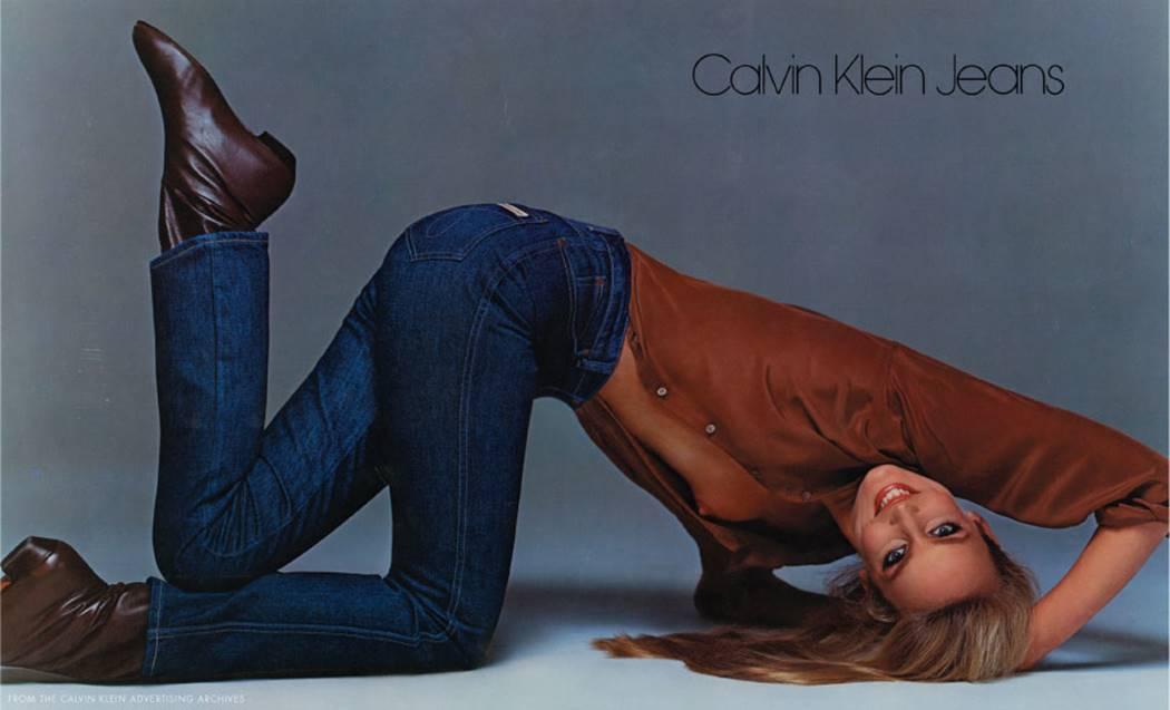 캘빈 클라인 브룩실즈 인쇄광고 Calvin Kleins_Brooke Shields(1980)_Aved_Jerry