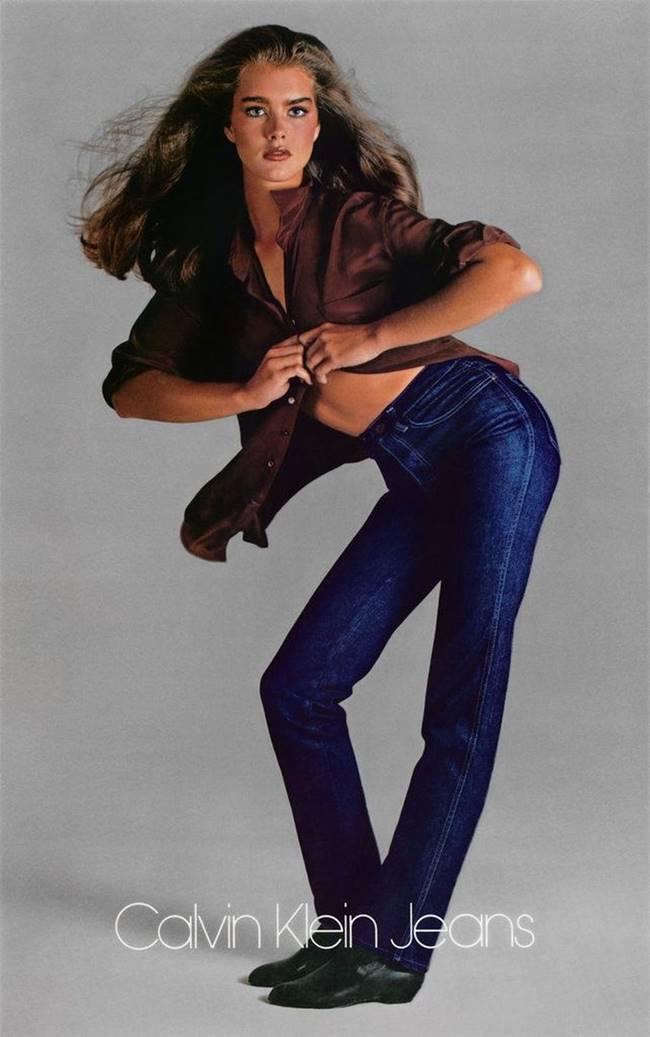 캘빈 클라인 브룩실즈 Calvin Kleins_Brooke Shields(1980)