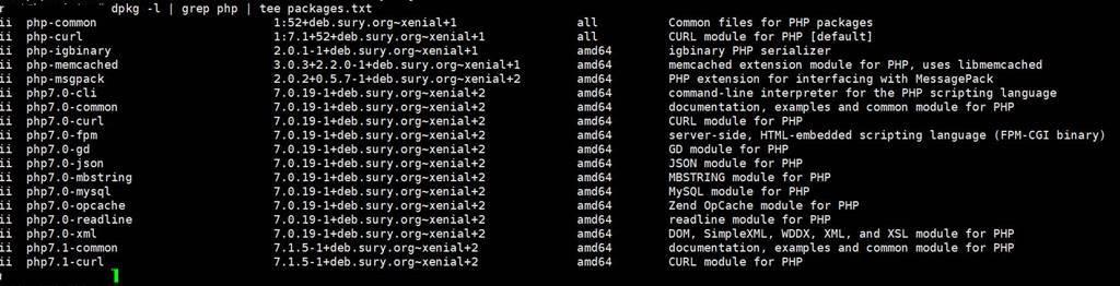PHP 7.1로 업그레이드_설치 PHP버젼을 보자