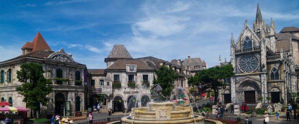 베트남 다낭 여행기 #8 – 해발 1500미터 산 정상에서 즐기는 유럽풍 테마파크 바나 힐(1/2) 1
