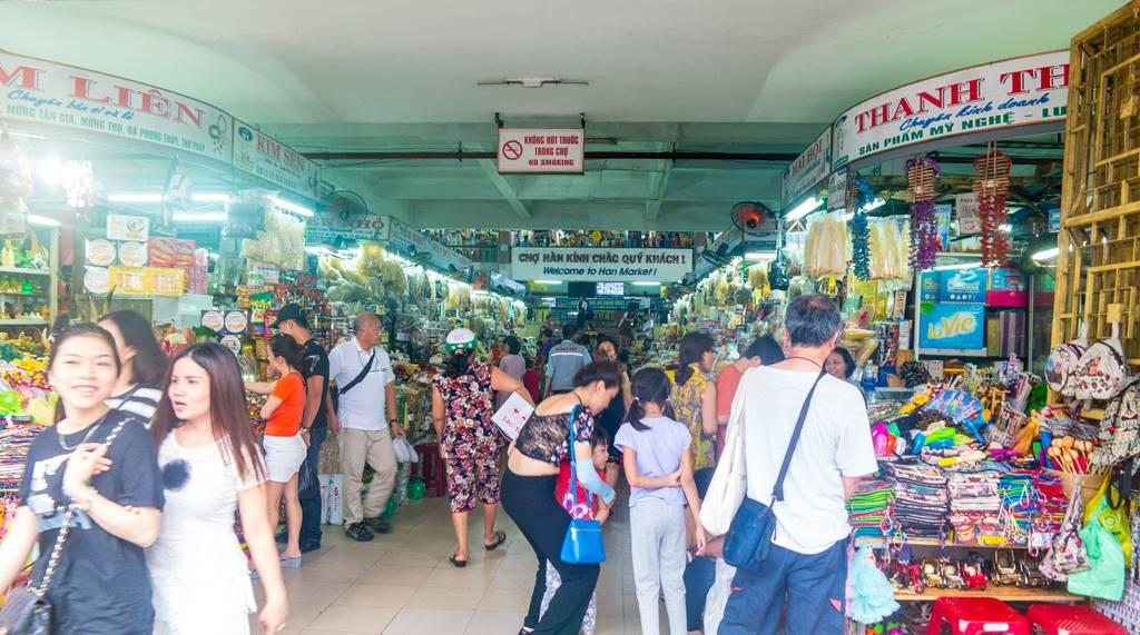 베트남 다낭 여행 - 다낭 한마켓 입구에서 바로 본 전경-3694