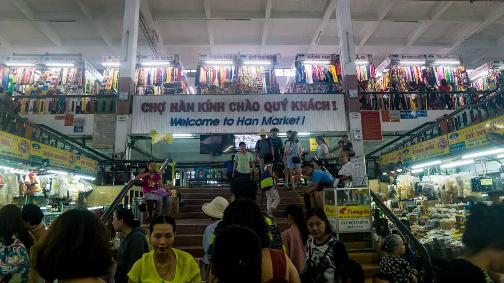 베트남 다낭 여행 - 다낭 한마켓 2층으로 오르는 계단-3696