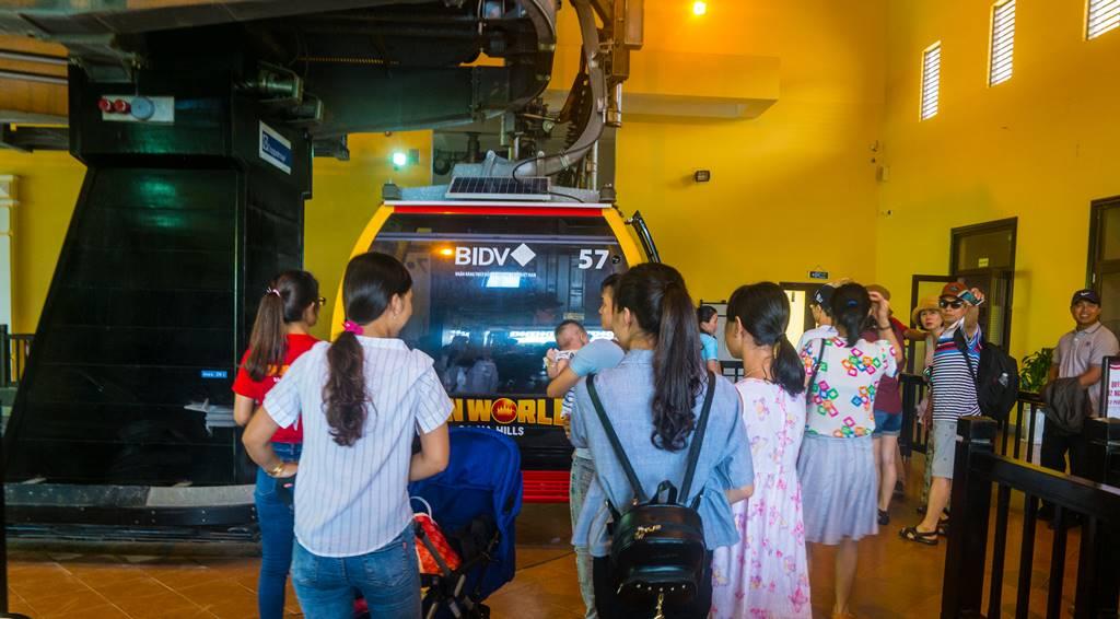 베트남 다낭 여행 - 바나 힐 케이블카 타는 곳-3964