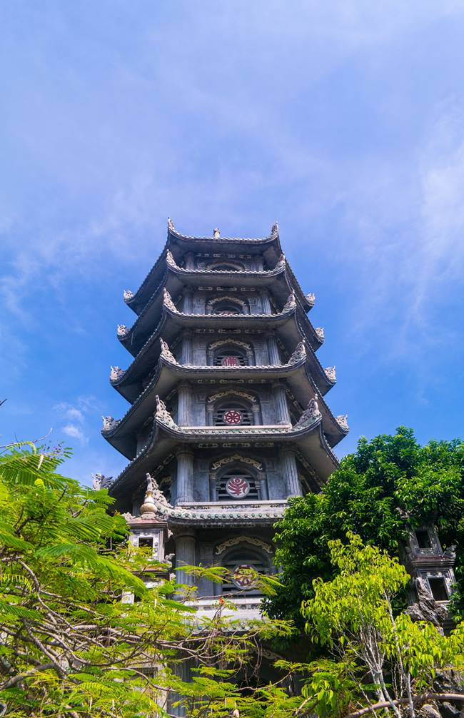 오행산(마블 마운틴) 사리탑(舍利塔 싸러이탑) 7층석탑-5874