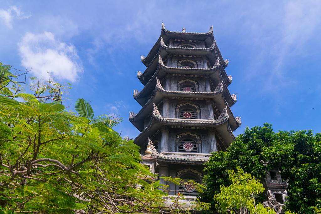 오행산(마블 마운틴) 사리탑(舍利塔 싸러이탑) 7층석탑-5875