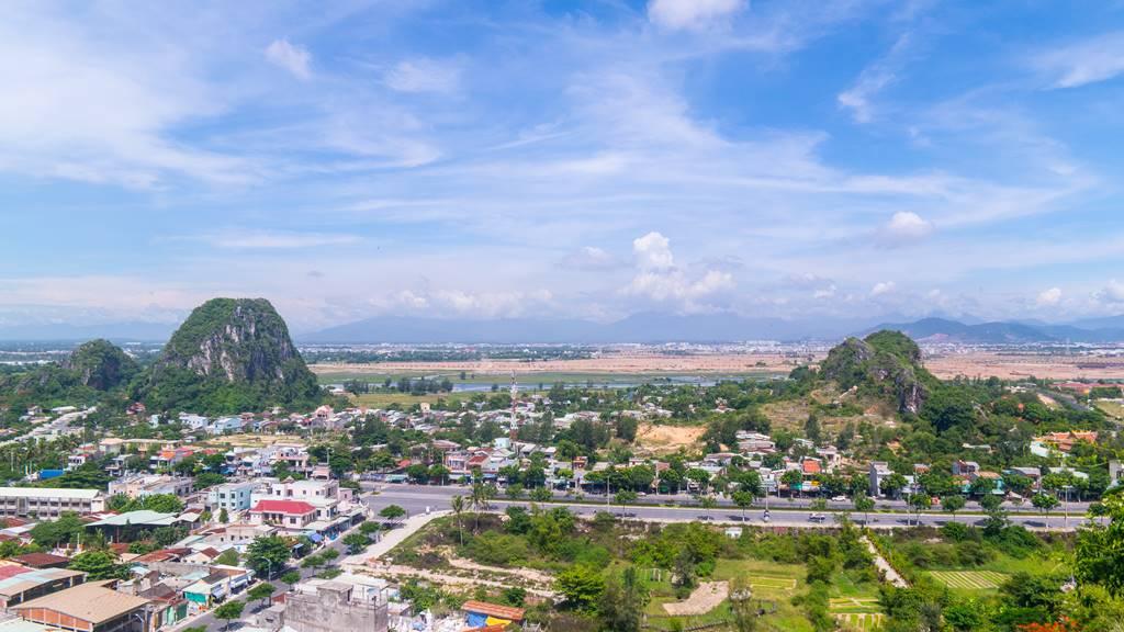 오행산(마블 마운틴) 전망대 망강대(望江臺)에서 바라 본 나머지 산들-6016